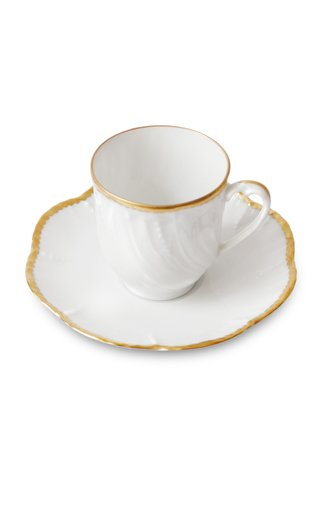 Simple Dentelle, Coffee Cup And Saucer