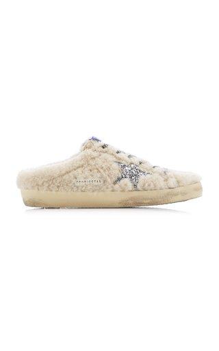 Superstar Sabot Shearling Slip-On Sneakers