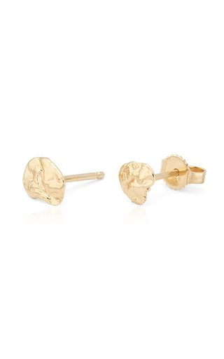 My Ray Medium 14K Yellow Gold Earrings