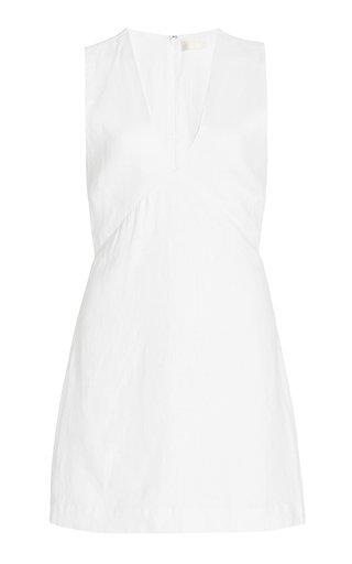 Exclusive Eden Linen Mini Dress