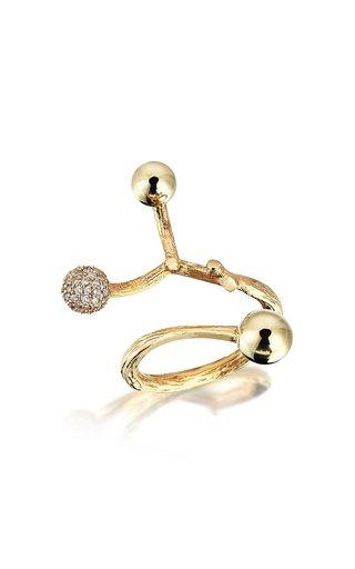 Small Constellation 18K Yellow Gold Diamond Ring