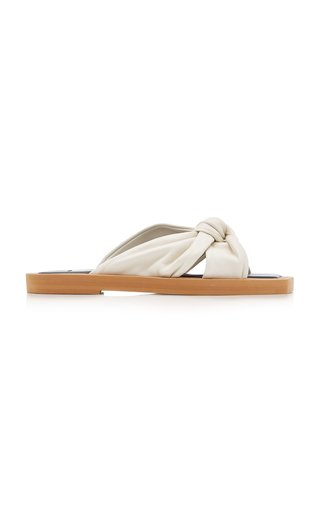 Tropica Knotted Leather Sandals