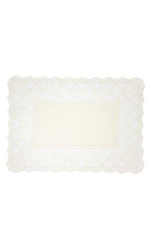 Rectangular Cream Placemat with Napkin