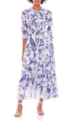 Brenda Cotton Voile Dress
