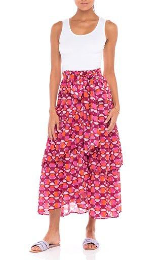 Frances Cotton Voile Skirt