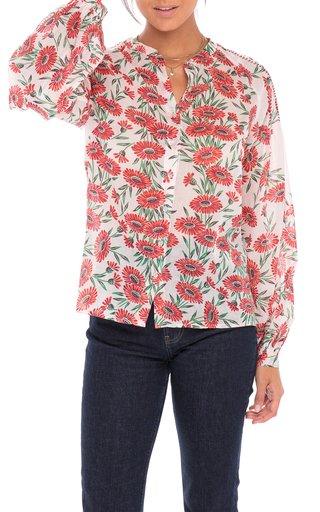 Ella Floral Cotton Voile Shirt