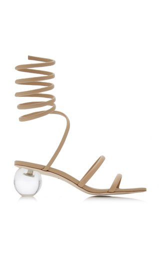 Freya Lace-Up Leather Sandals