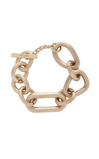 Reyes Oversized Brass Bracelet