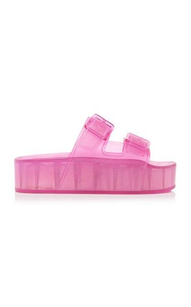 Mallorca Platform Rubber Sandals