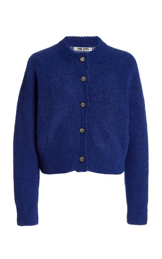 Firenze Alpaca-Blend Knit Cardigan