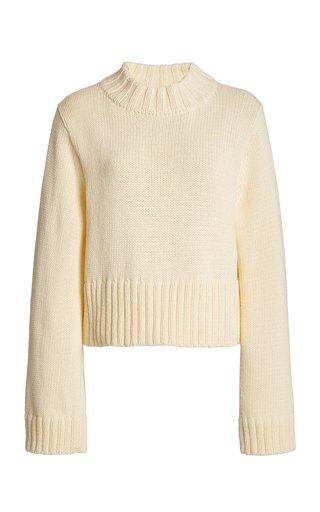 Verona Cotton Mock-Neck Sweater