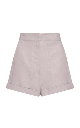 Brindisi Linen-Twill Shorts