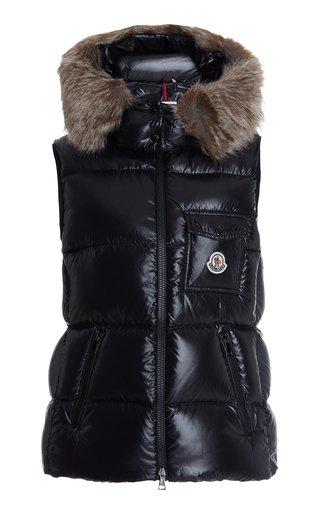 Balabio Fur-Trimmed Down Vest