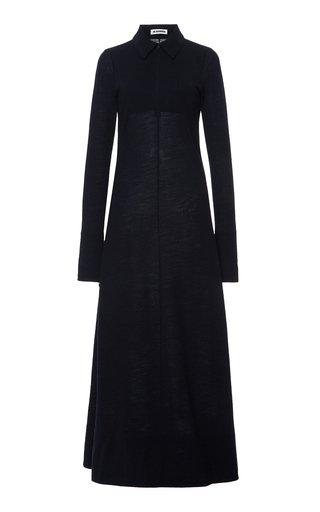 Knit Wool-Blend Maxi Dress