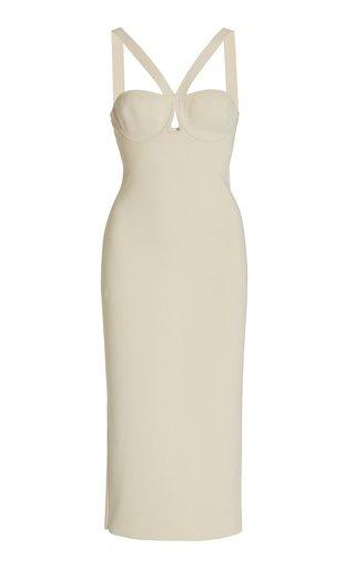 Venus Cutout Knit Midi Dress