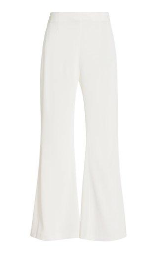 Julianne Satin Wide-Leg Trousers