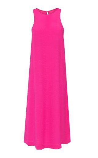 Nalini Crepe Maxi Dress