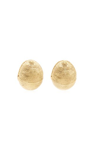18K Gold-Plated Seed Earrings