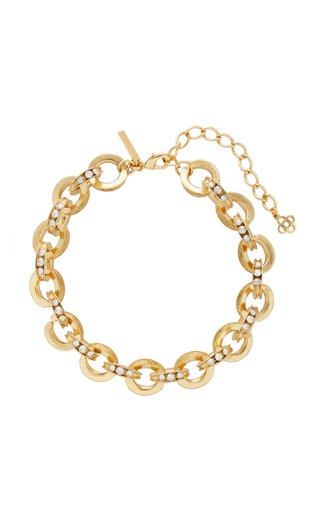Gold-Tone Chain Link Necklace