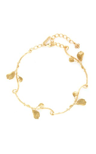 Gold-Tone Thorn Necklace