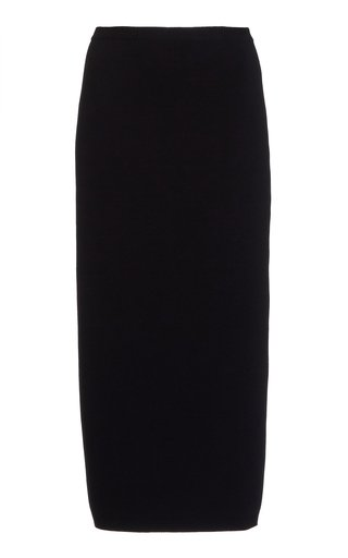 Fitted Knit Pencil Skirt