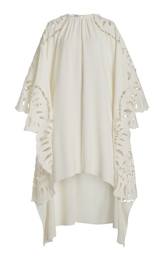 Embroidered Silk-Blend Tunic