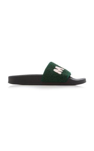 Ciabatta Logo Terry Slide Sandals