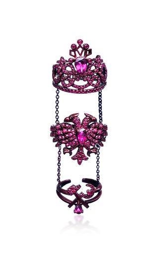 Scarlet Empress Ruby Multi Ring