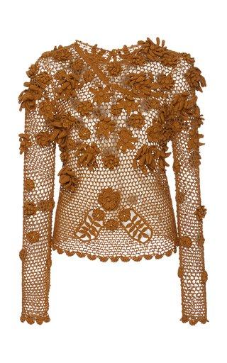 Yara Hand-Crochet Cotton Top