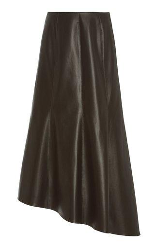 Tiana Paneled Faux Leather Skirt