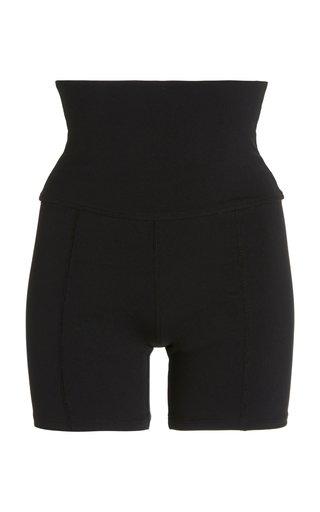 Geometric Jersey Shorts