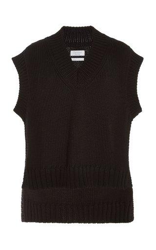 Alix Wool-Cashmere Knit Vest