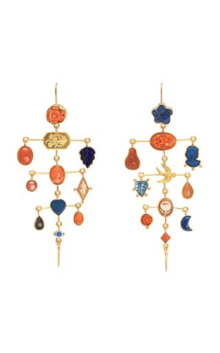 Multilayer Balance Victorian Drop Earrings