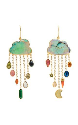 Opal Cloud Earrings