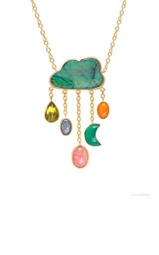 Opal Cloud Necklace