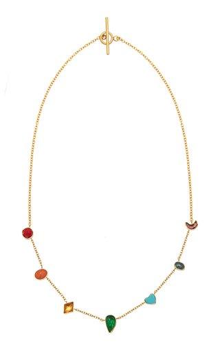 Rainbow Mini Charm Necklace