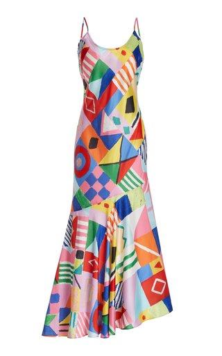 Shoreline Printed Maxi Dress