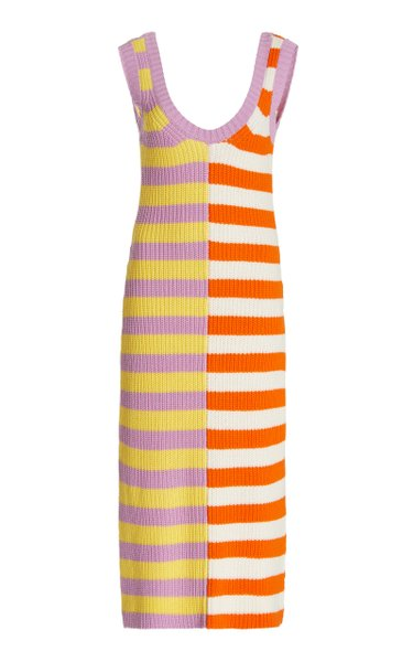 Seashore Knit Midi Dress