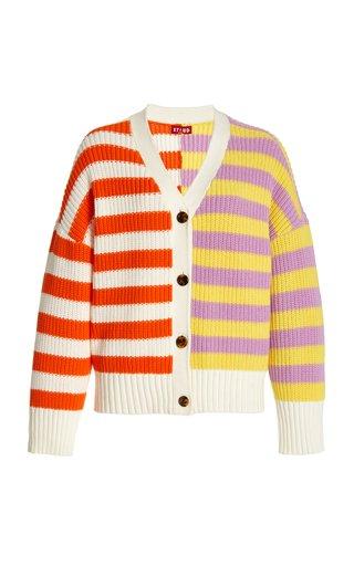 Essex Striped Knit Cardigan