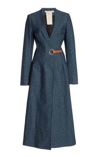 Tiziana Cotton Trench Coat
