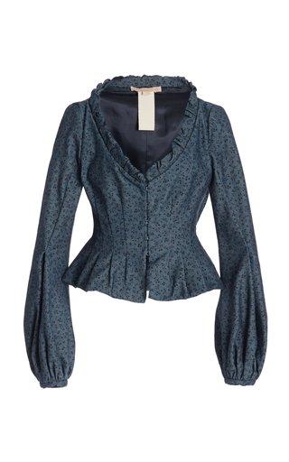 T-Sabrina Single Breasted Denim Jacket