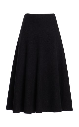 In Tillie Virgin Wool-Blend Skirt