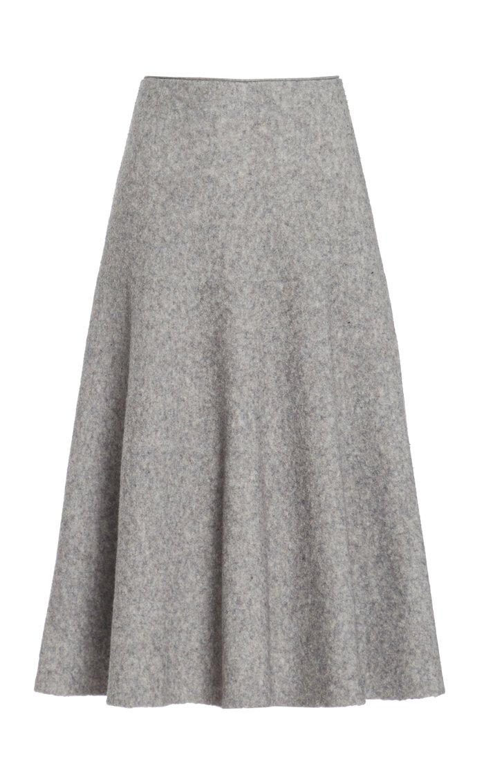 In Tillie Virgin Wool-Blend Skirt