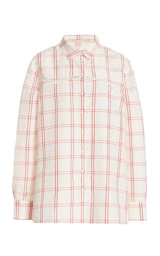 Tersia Linen-Silk Shirt