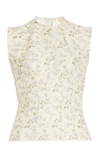 Top Thao Linen-Cotton Tank Top