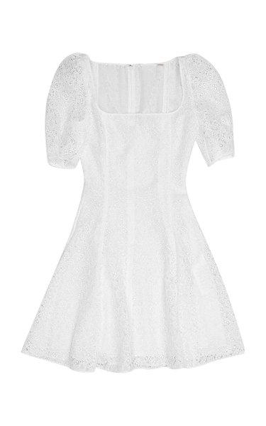 Temple Lace Mini Dress
