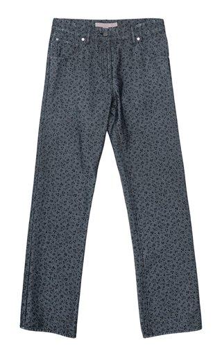 Teresa Printed Denim Pants
