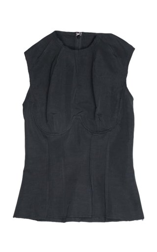 Thao Cotton-Linen Tank Top