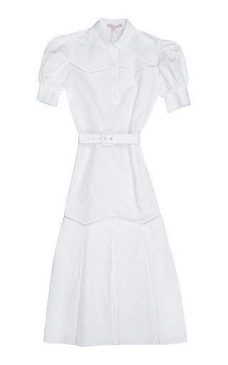 Teodosia Cotton-Linen Day Dress