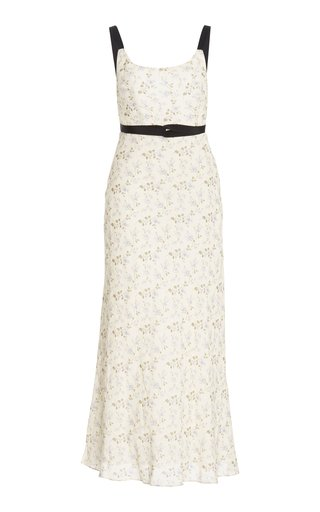 Tamara Linen-Cotton Day Dress